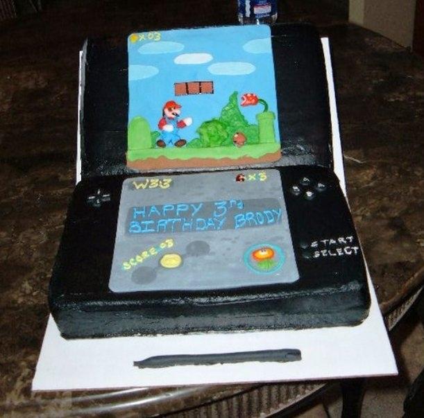 Admirable Free Download Nintendo Ds Super Mario Bros Nintendo Ds Birthday Personalised Birthday Cards Veneteletsinfo
