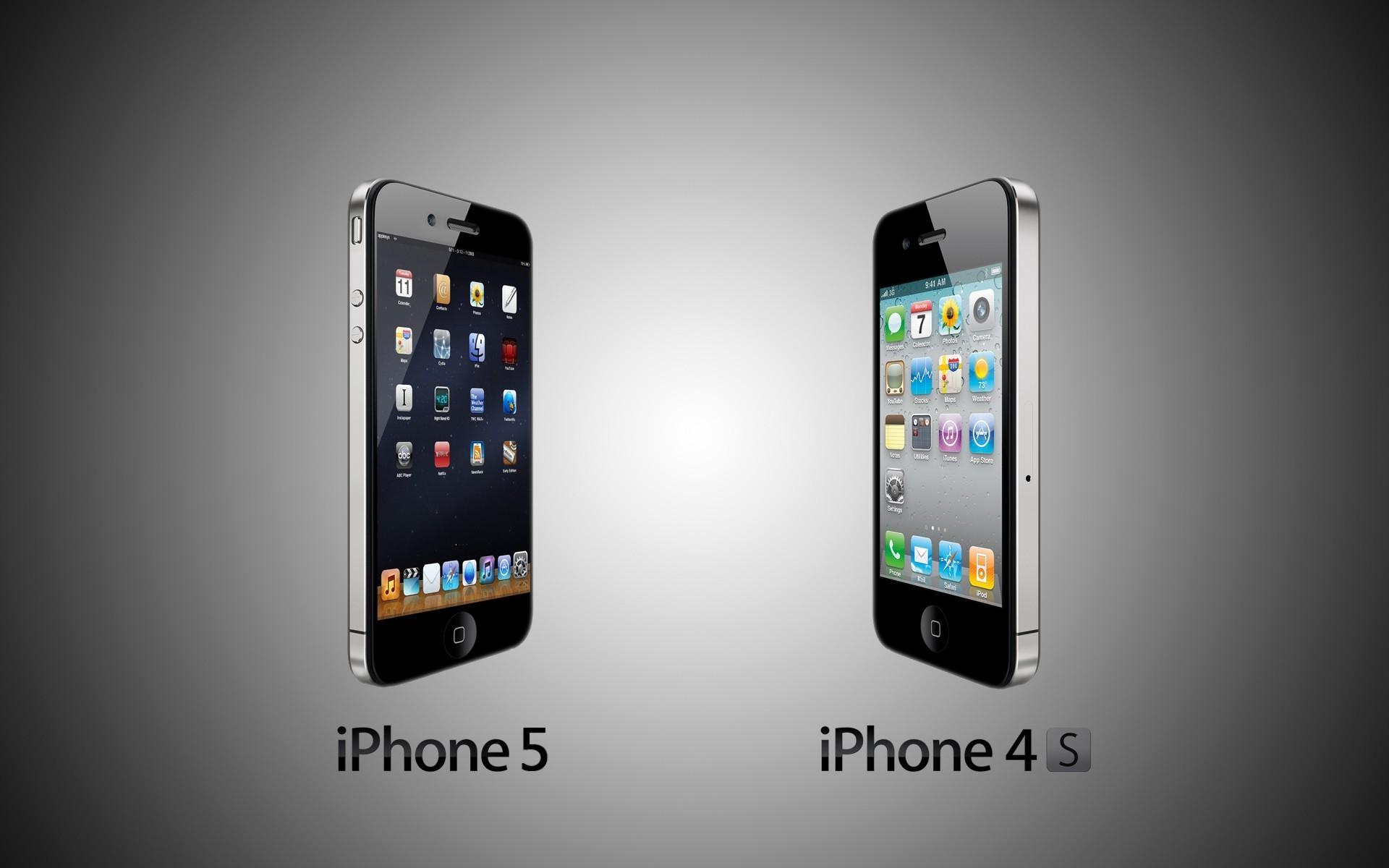 Iphone 5 Vs Iphone 4s HD Wallpaper ImageBankbiz 1920x1200