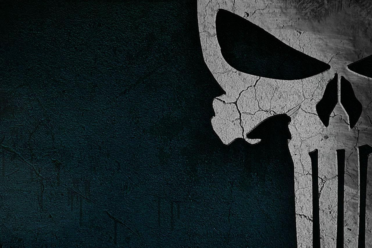 Central Wallpaper The Punisher Skull Logo HD Wallpapers 1280x853