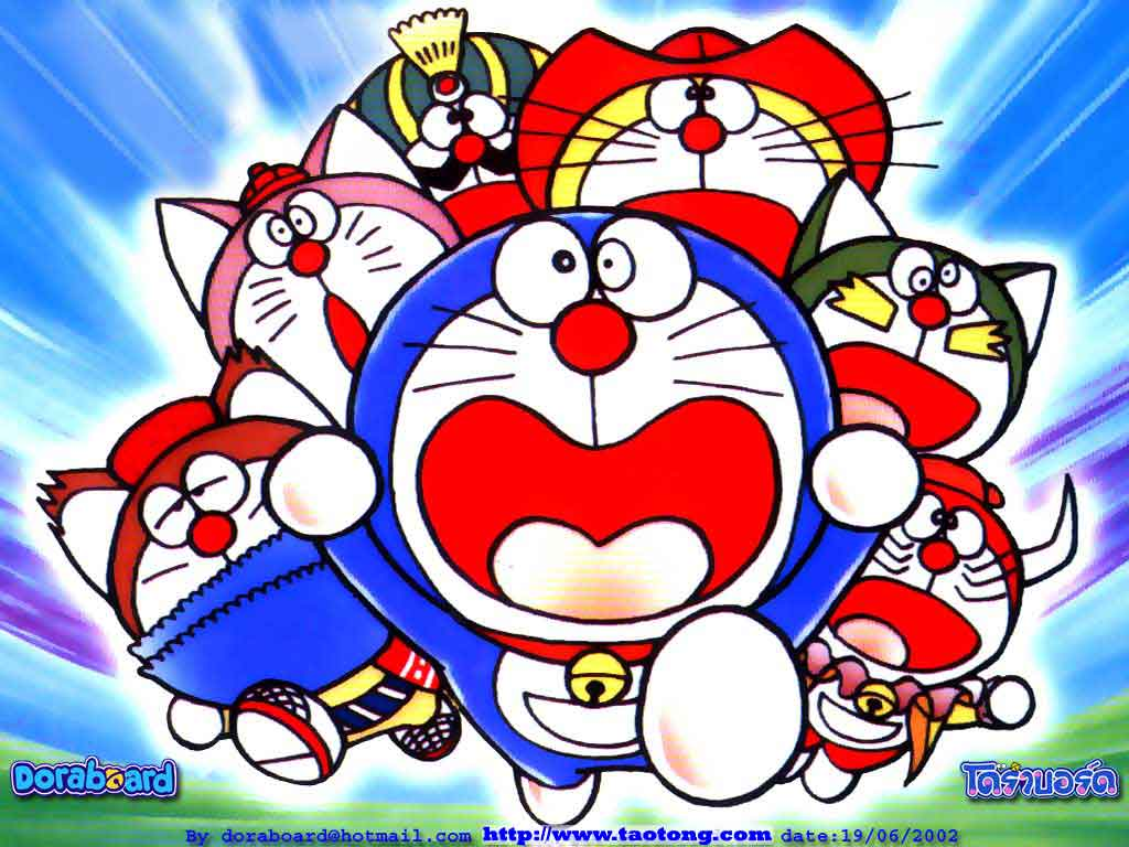 Free Wallpaper Collection Doraemon Wallpaper