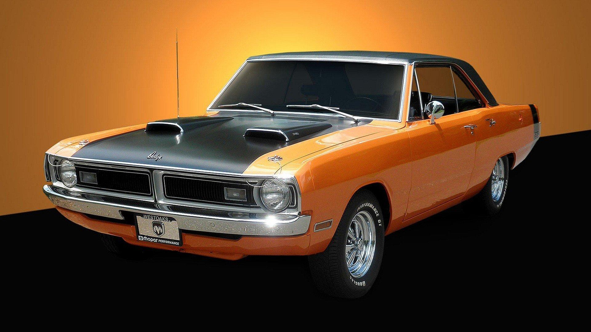 Cars muscle cars widescreen 1970 Dodge Dart 340 wallpaper   1920x1080 ...