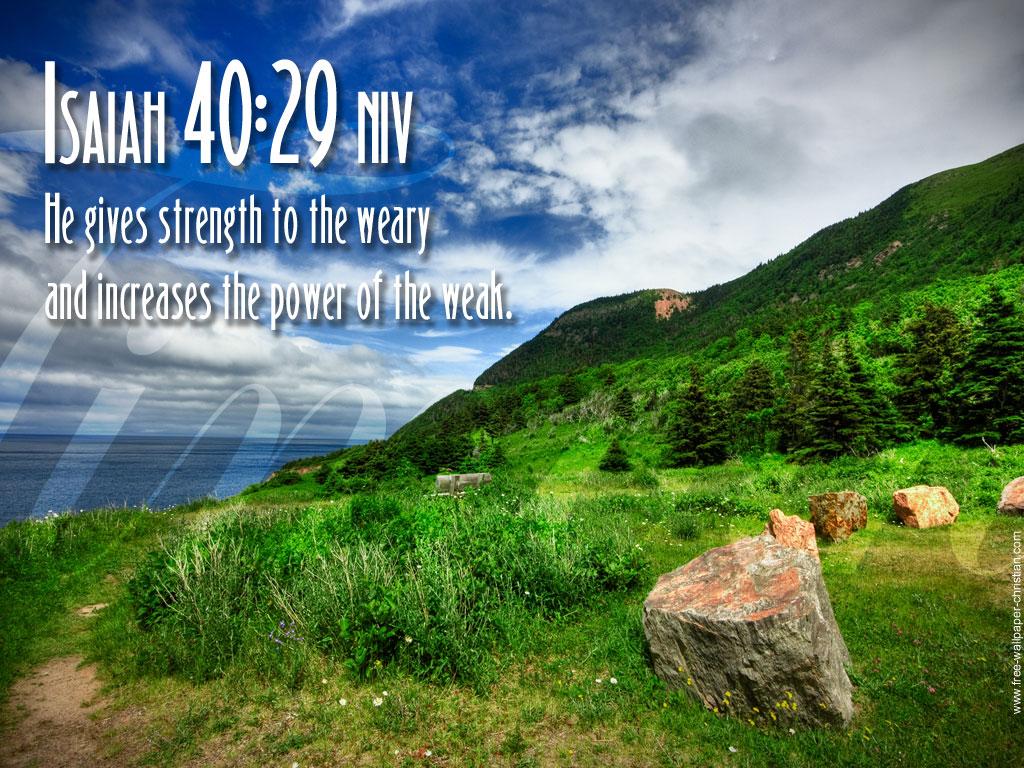 Desktop Bible Verse Wallpaper Isaiah 40 29jpg 1024x768