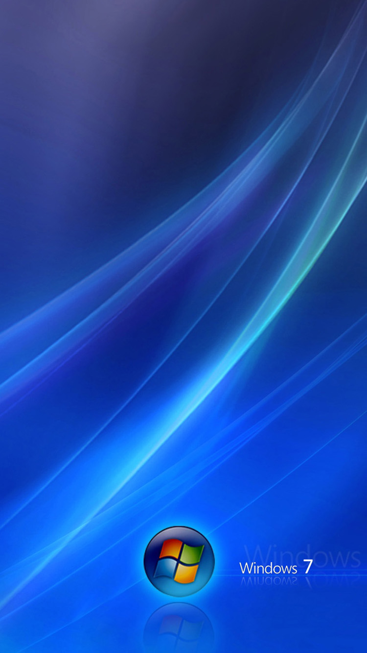 Windows 7 Dark Blue IPhone 6 Wallpapers HD Wallpaper 750x1334
