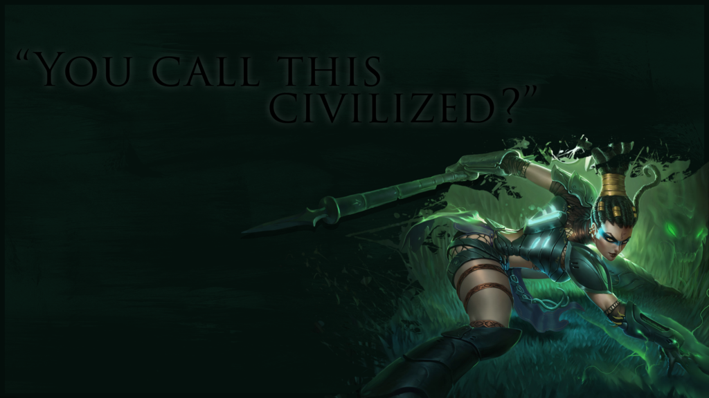 League of Legends   Headhunter Nidalee Wallpaper by SoMousy on 1024x576