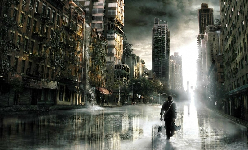 science fiction i am legend post apocalyptic 1920x1168 wa Wallpaper 800x486