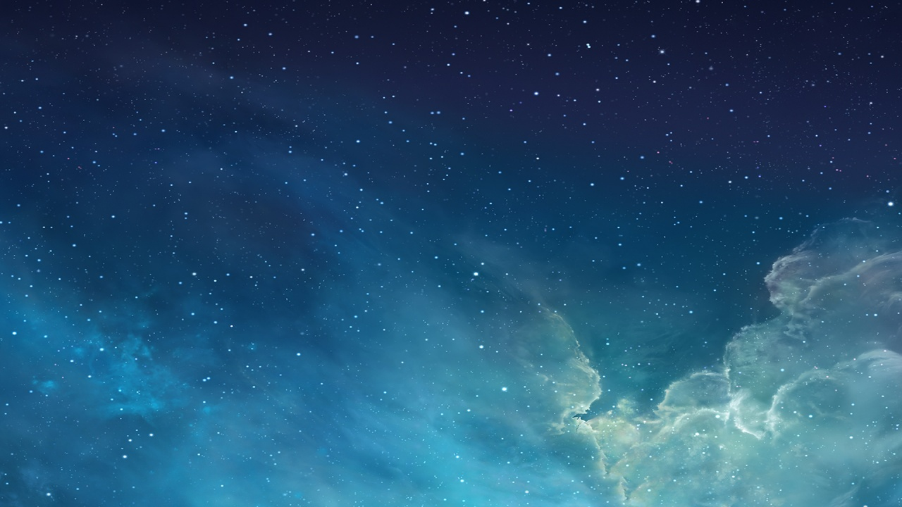 iOS 7 Galaxy Wallpapers HD Wallpapers 1280x720