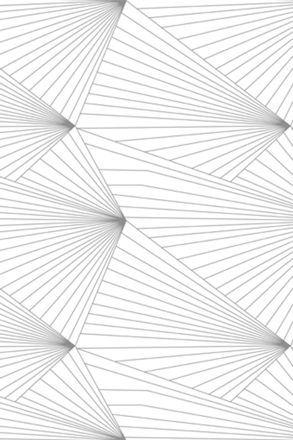 Gray and white geometric wallpaper wallpapersafari for Gray and white wallpaper designs