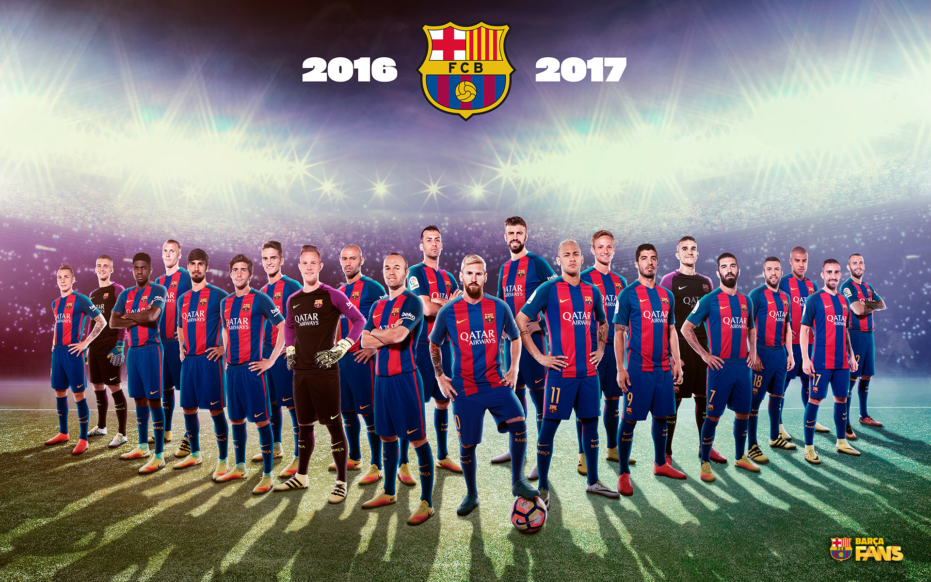 Fc Barcelona Wallpaper 2017 1920x1200