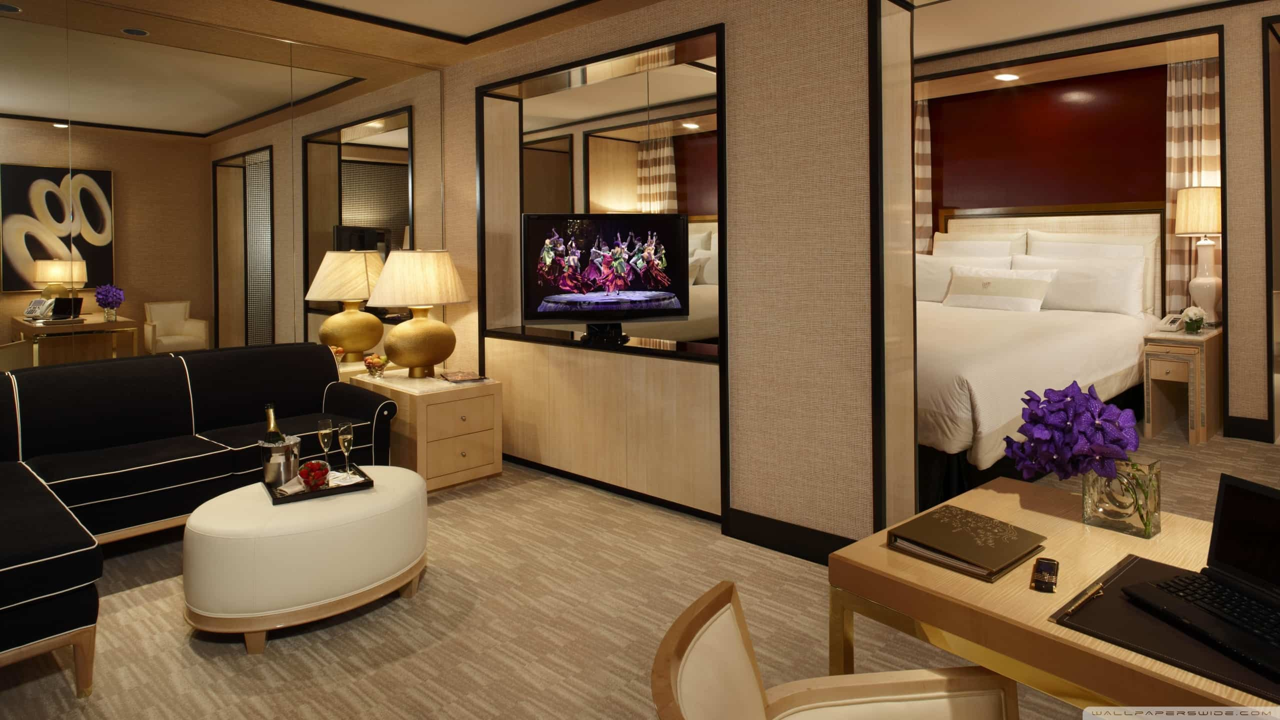 Hotel Wallpaper for Commercial Interior Design   Wallscape 2560x1440