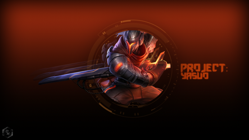 project yasuo wallpaper