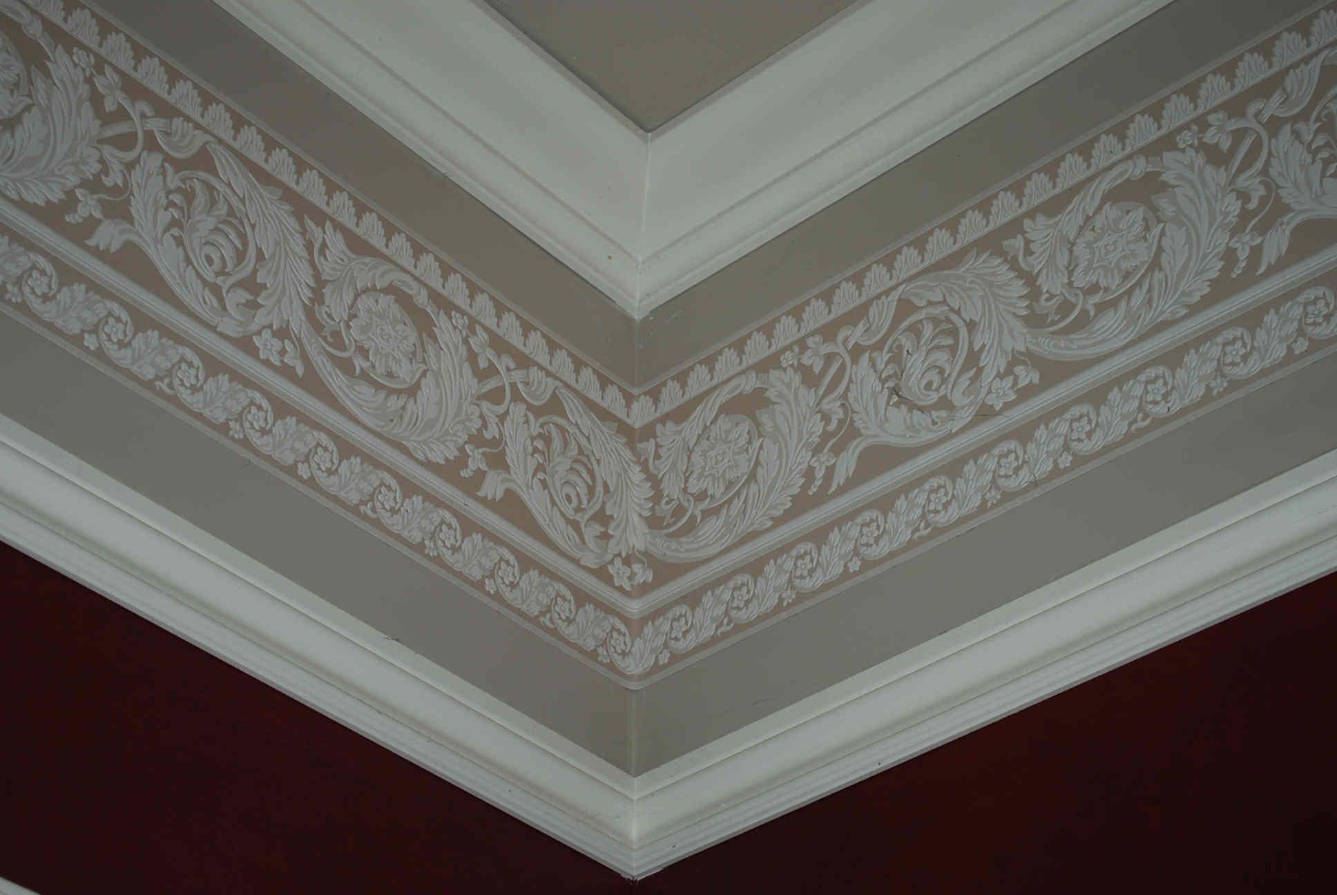 Wallpaper Crown Molding - WallpaperSafari