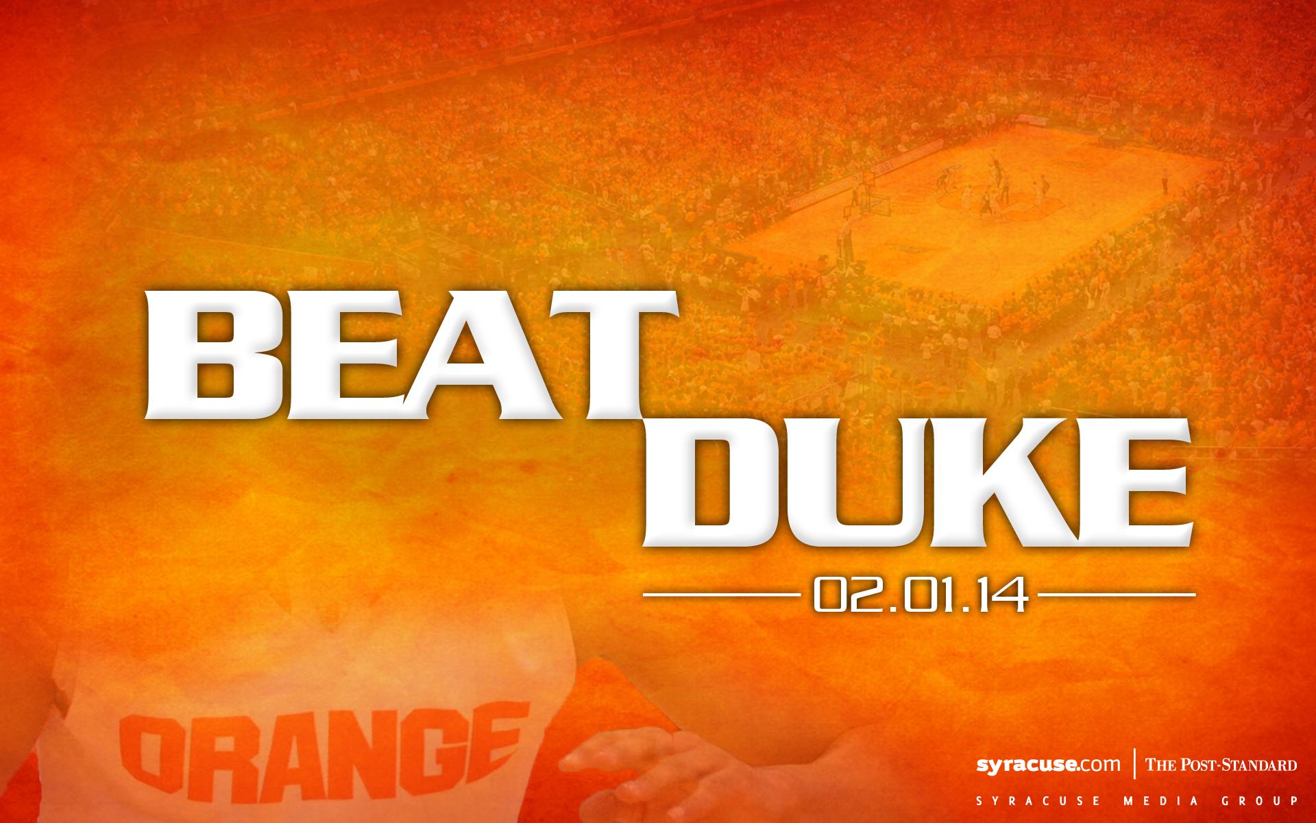 Syracuse basketball desktop wallpaper Get ready to BeatDuke on your 1920x1200