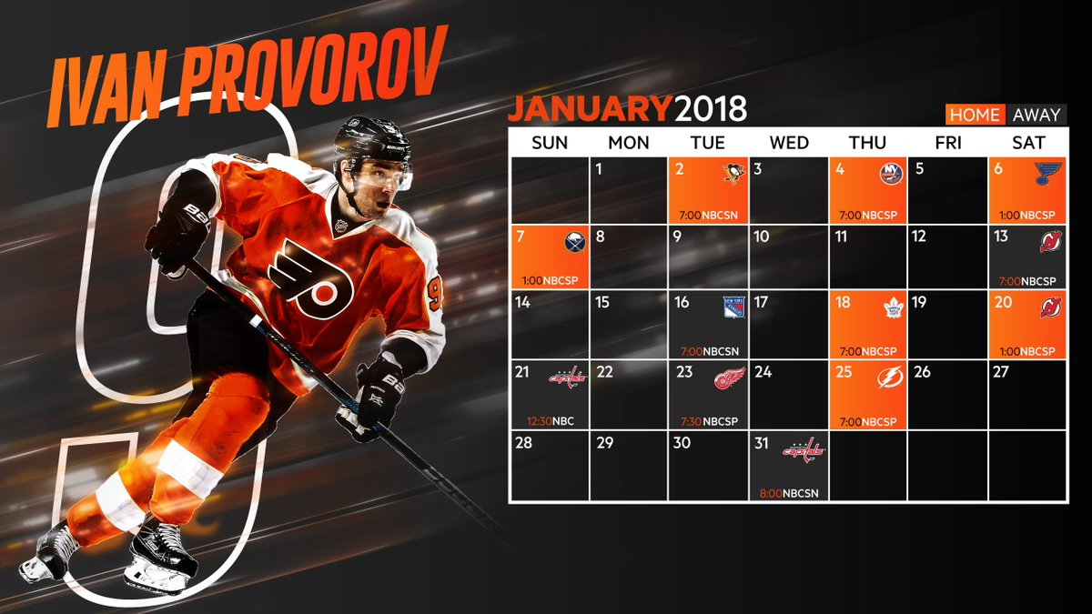 Philadelphia Flyers on Twitter New year new month new 1200x675