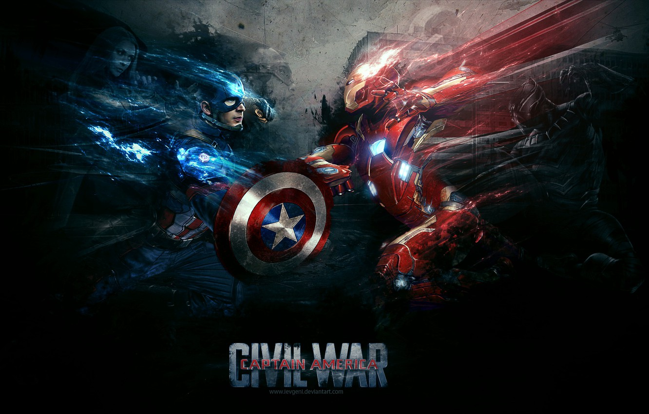 Wallpaper captain america iron man falcon war machine black 1332x850
