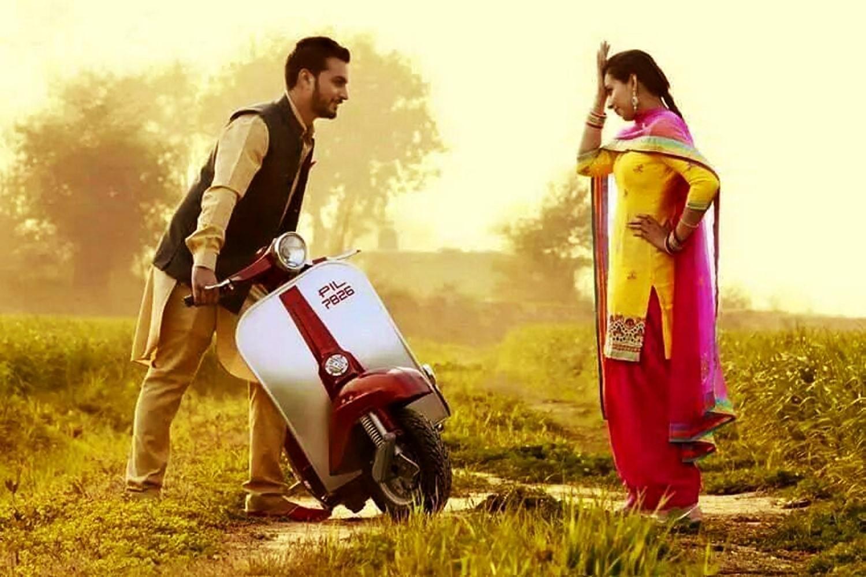 Punjabi love image boy and girl