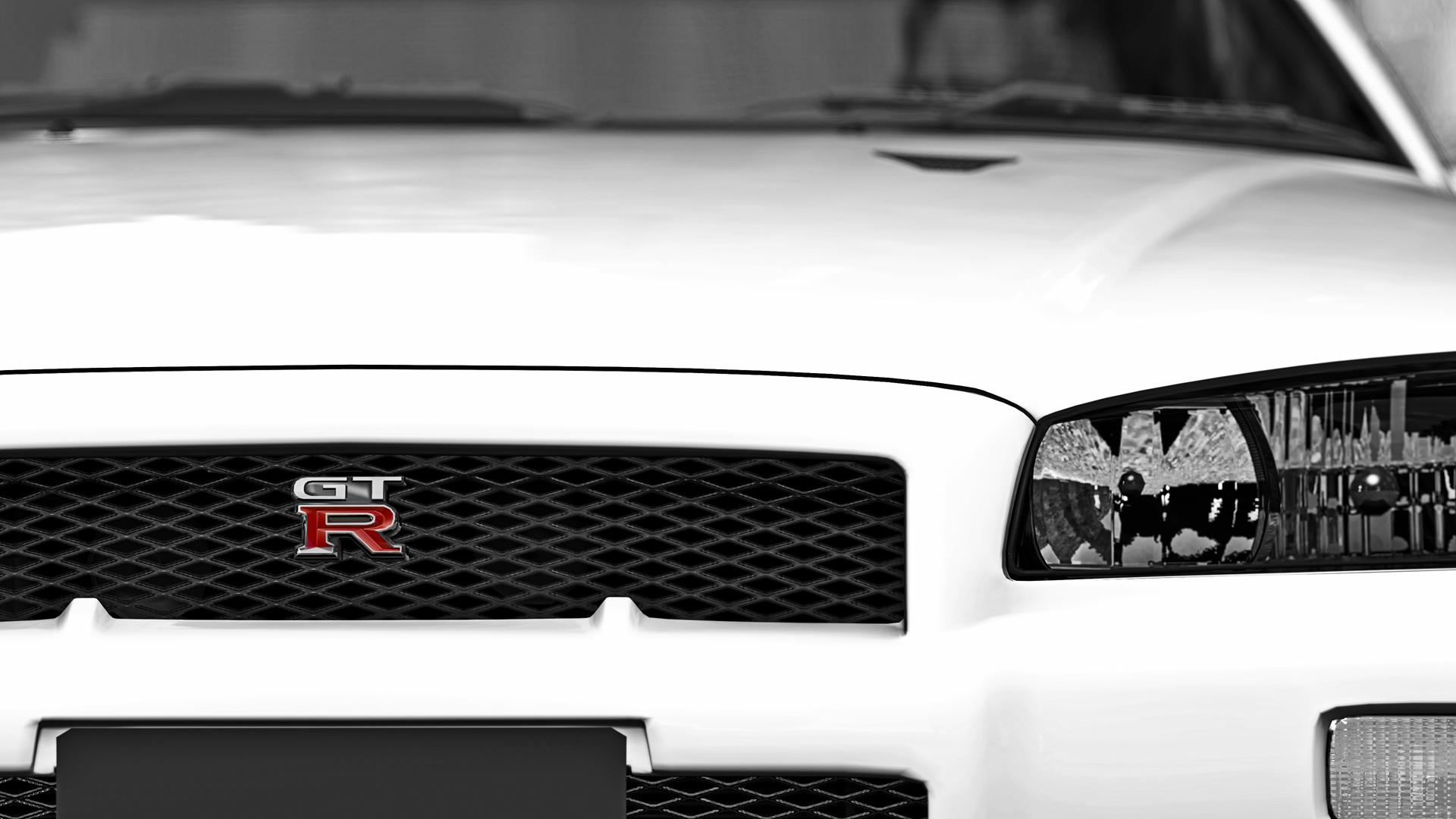 GTR Badge   1080p Wallpaper by EmptySoulR35 1920x1080