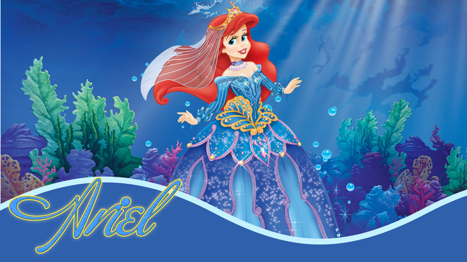 Disney HD Wallpapers Walt Disney Princess Ariel HD Wallpapers 1600x900