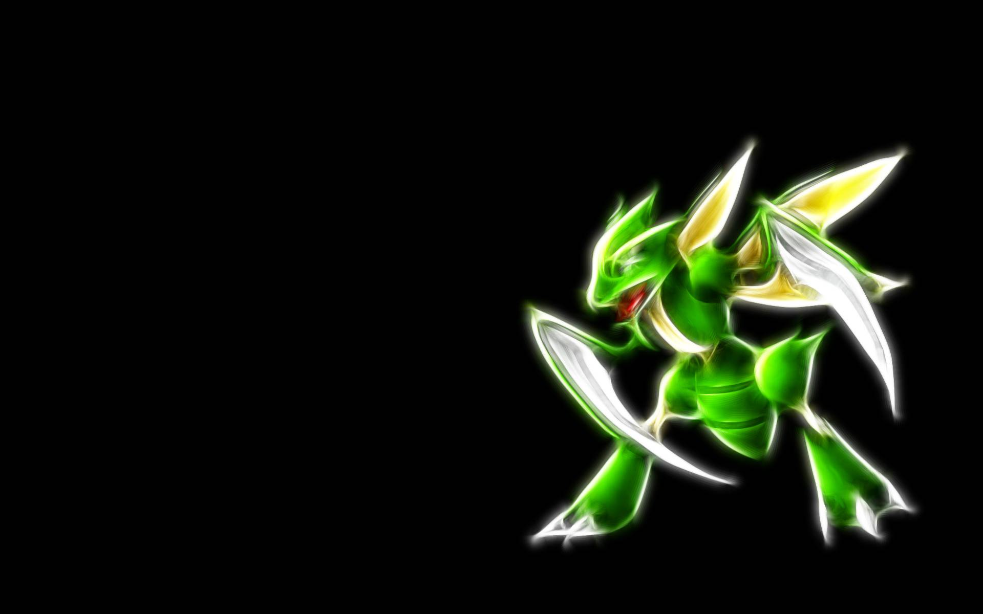 Scyther Neon Wallpaper Cool wallpaper with Scyther 1920x1200