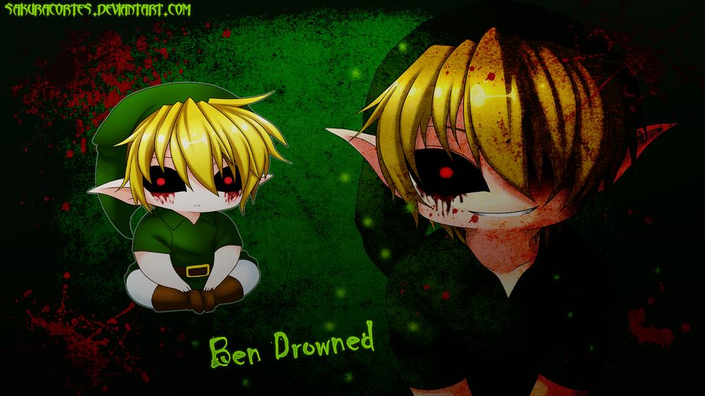 Ben Drowned Wallpaper by sakuracortes 1024x576