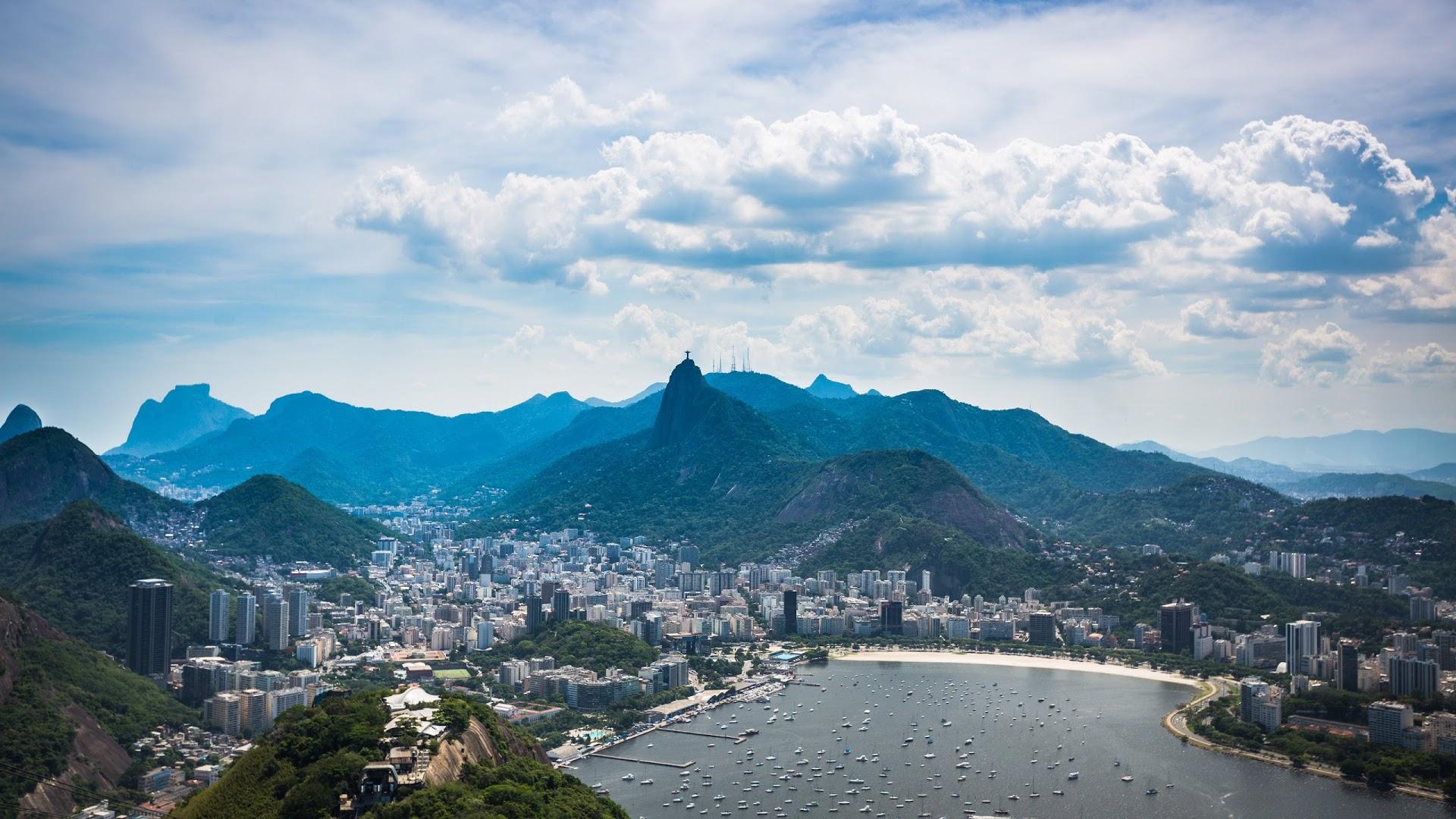 Сверкающий Рио-Де-Жанейро  № 1457394 бесплатно