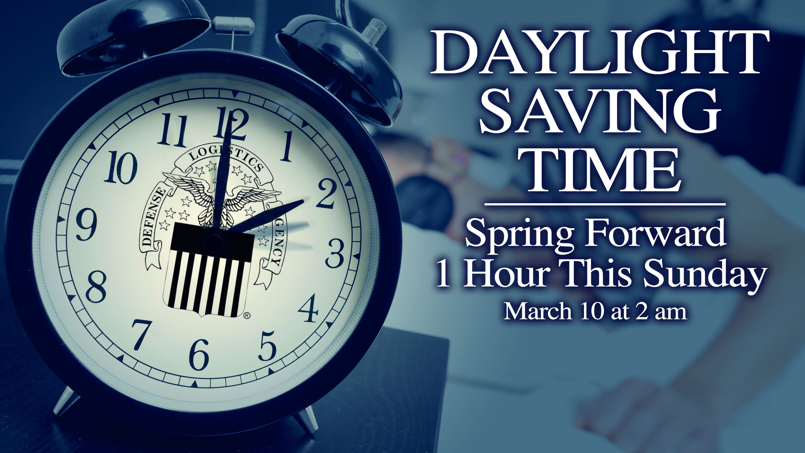 download Daylight saving time Spring forward this Sunday 2560x1440