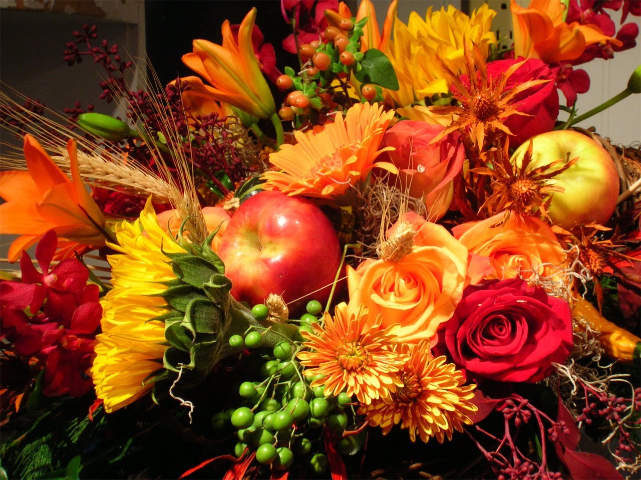 Thanksgiving Flower Wallpaper Thanksgiving Sunflower Pictures 1280x958
