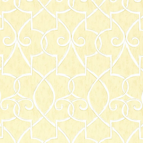 Hampton Lattice Wallpaper in Yellow   Geometric Wallpaper   Wallpaper 500x500