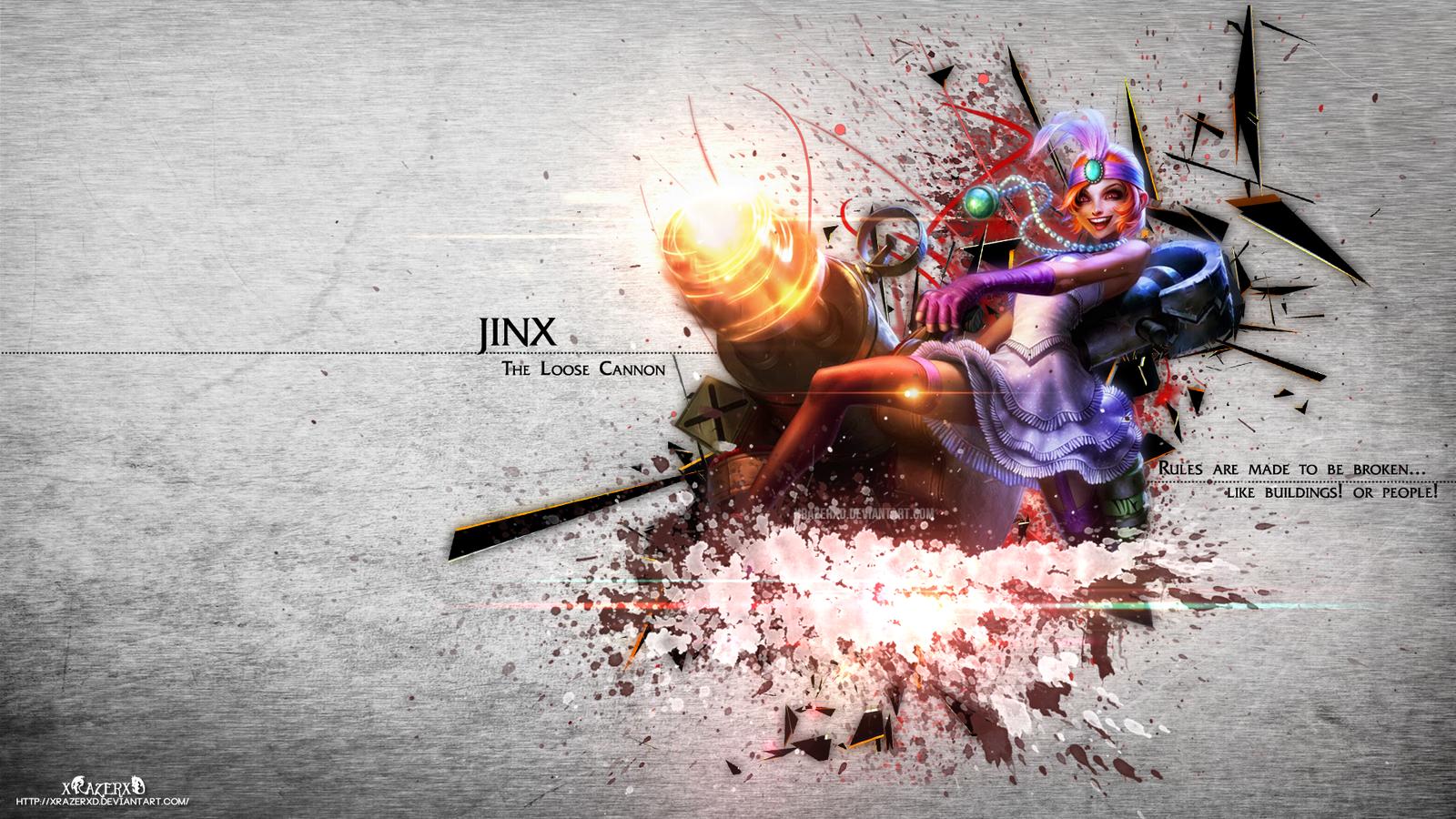 Jinx League of Legends Arethemostcom 1600x900