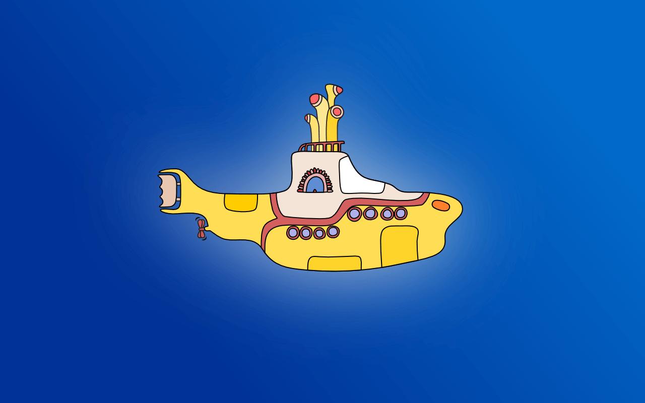 Yellow Submarine Wallpaper Image Group 28 1280x800