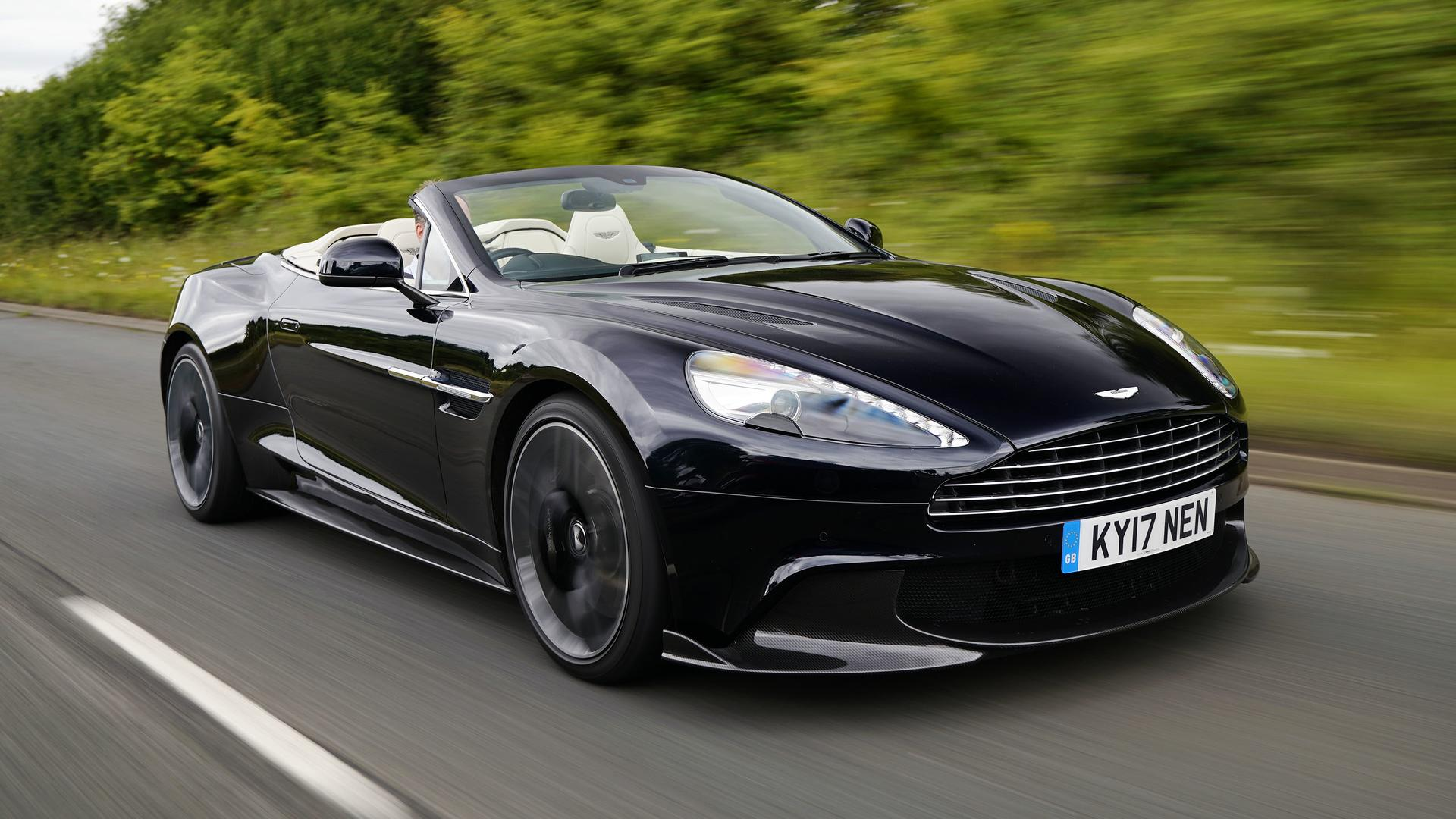 2018 Aston Martin Vanquish S Volante First Drive The Final Encore 1920x1080