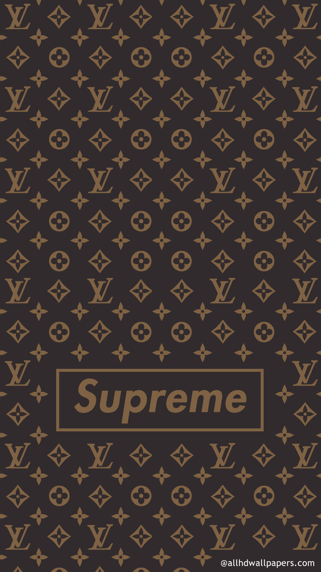 56+] Supreme iPhone Wallpaper Gold on ...