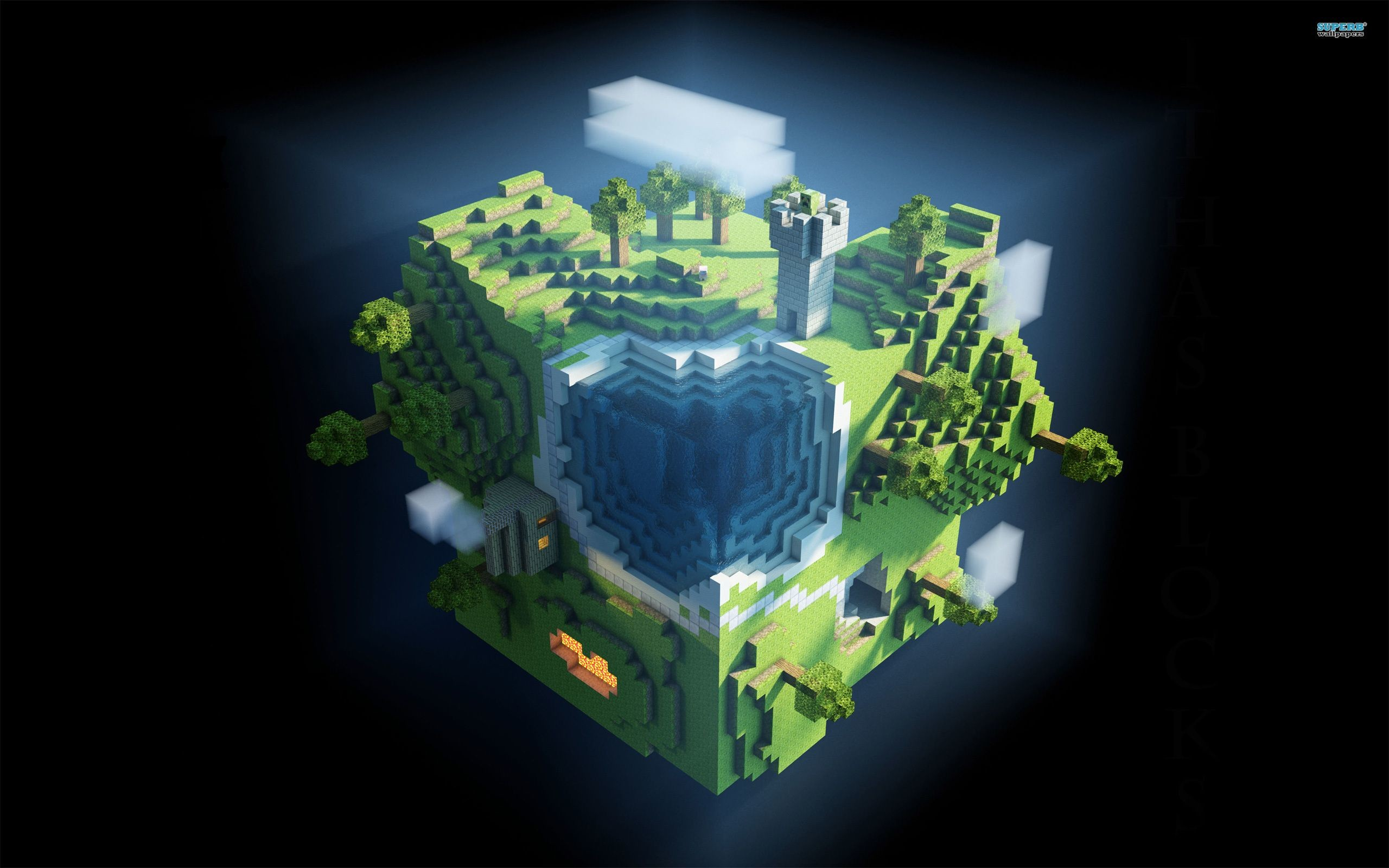 69 Minecraft Epic Wallpapers on WallpaperPlay 2560x1600