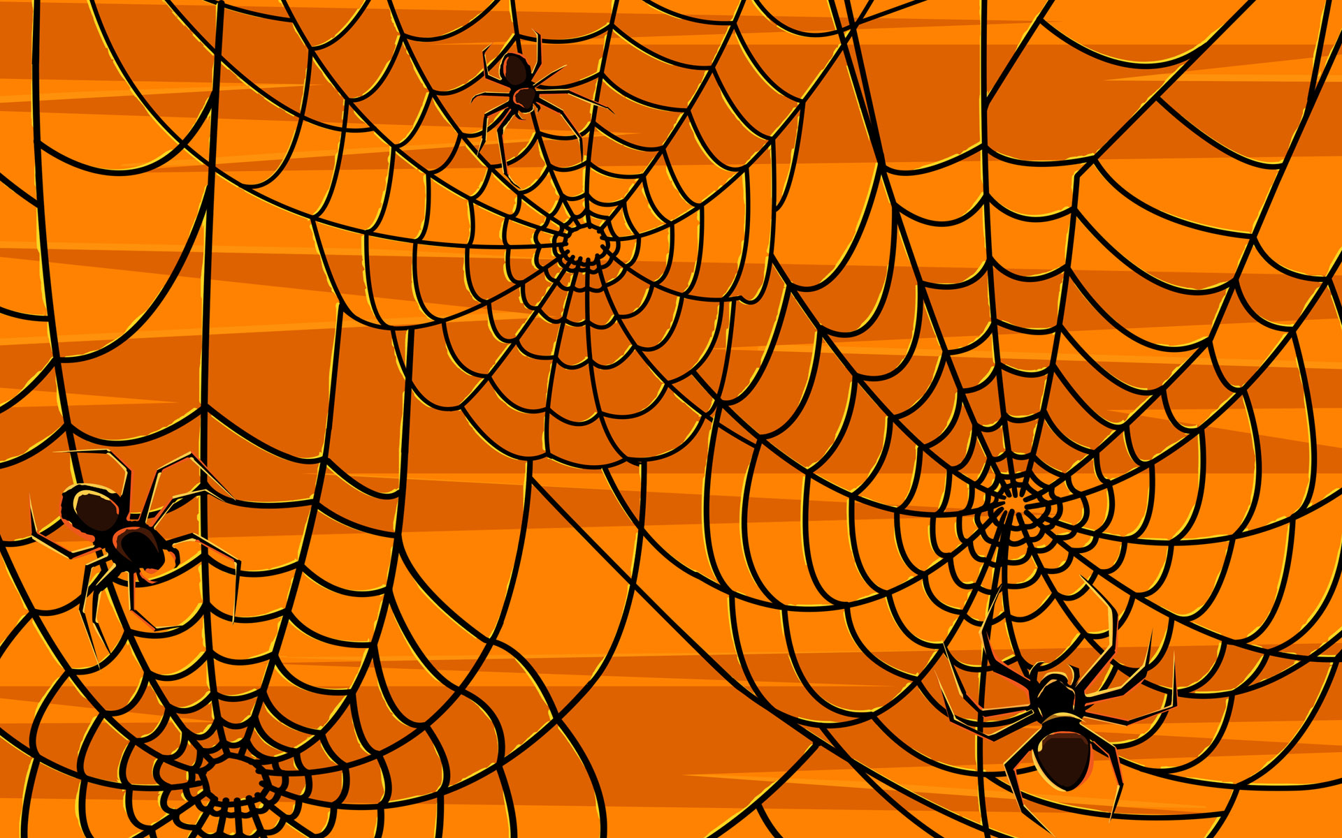 45 Scary Halloween 2012 HD Wallpapers Pumpkins Witches Spider Web 1920x1200