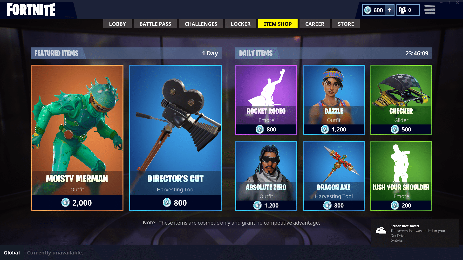 Fortnite Moisty Merman Added to Item Shop Be The Creature From 1920x1080