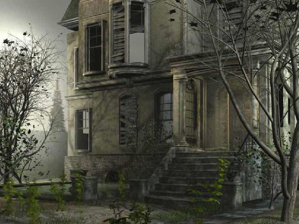 THE HAUNTED HOUSE Wallpaper m19jsjpg 1024x768