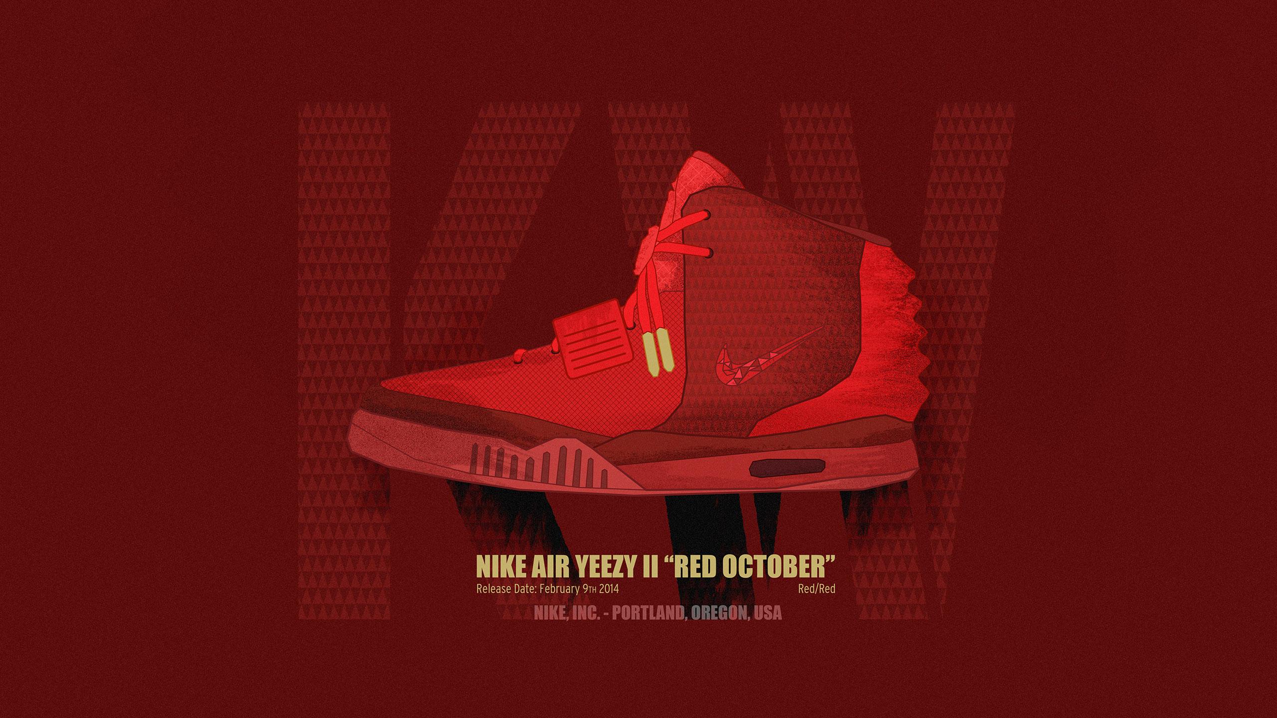 Yeezy 2 Red October Wallpaper wwwgalleryhipcom   The 2560x1440