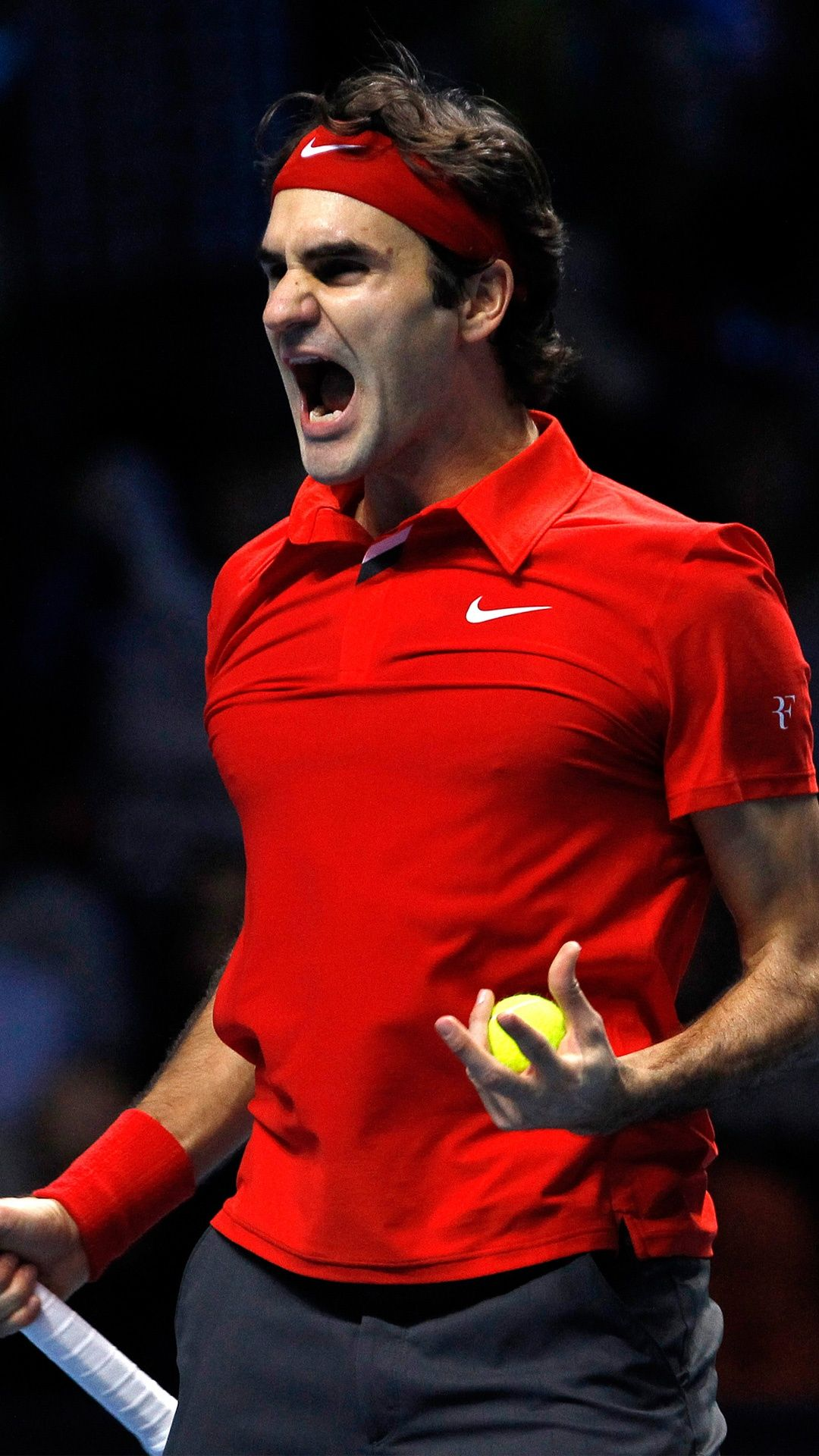 wallpaper Roger Federer Wallpapers Sports Tennis tournaments 1080x1920