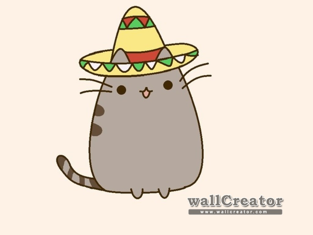 Pusheen Wallpaper for Computer - WallpaperSafari