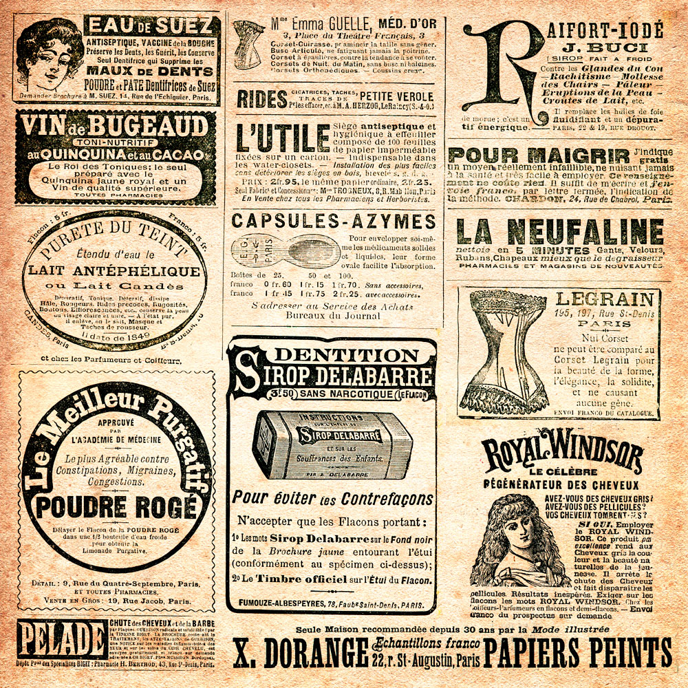 Vintage Newspaper Wallpaper Reset scale center wallpaper 1000x1000
