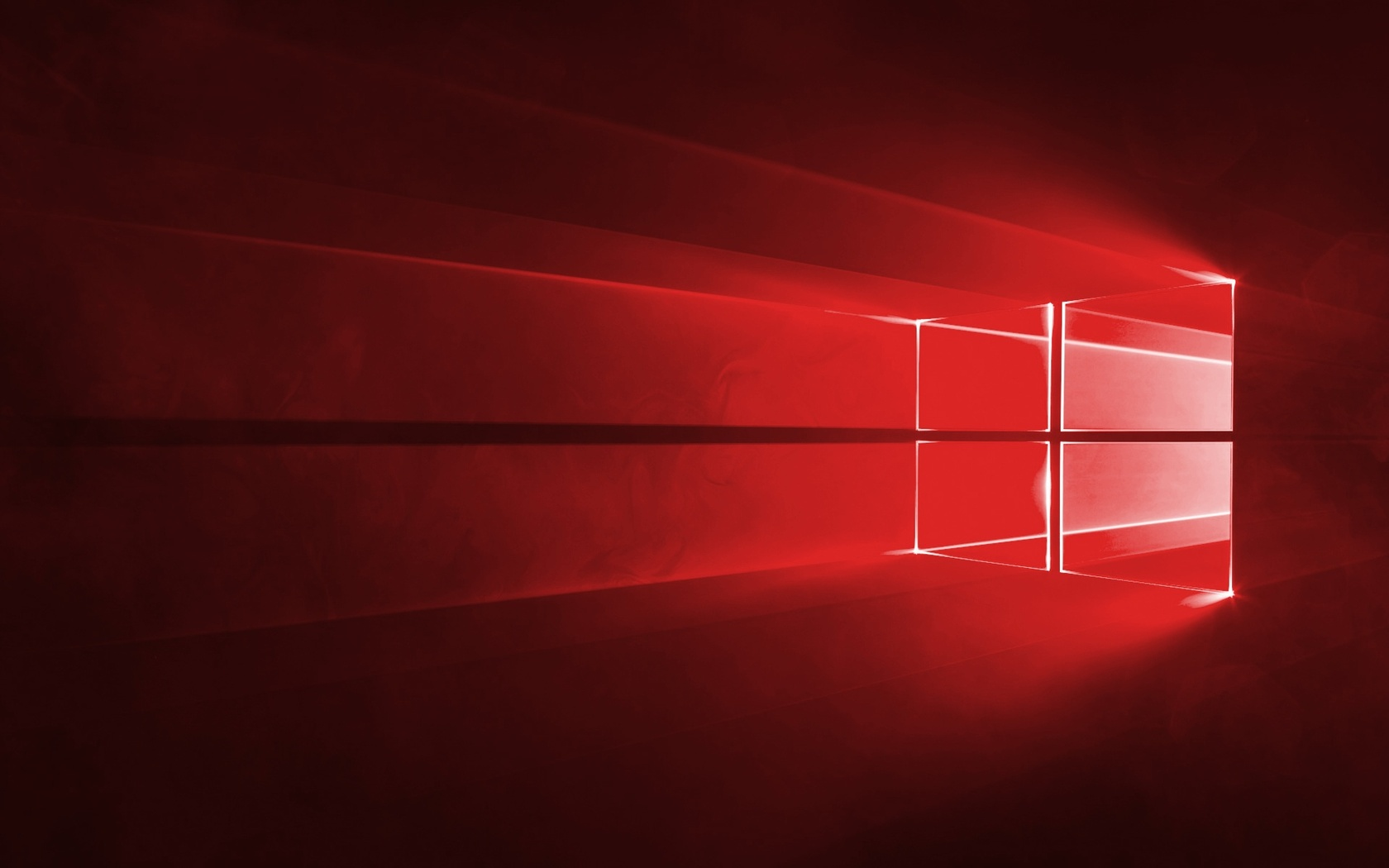 Red Windows 10 wallpaper #37885