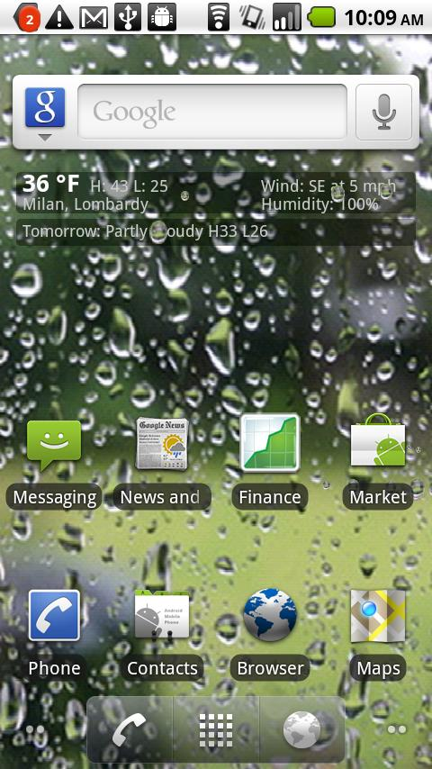 50 Live Weather Wallpaper For Android On Wallpapersafari