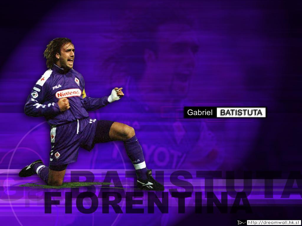 Top Football Wallpapers Gabriel Omar Batistuta Football 1024x768