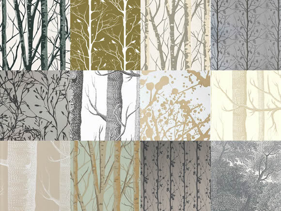 Cole And Son Tree Wallpaper Wallpapersafari