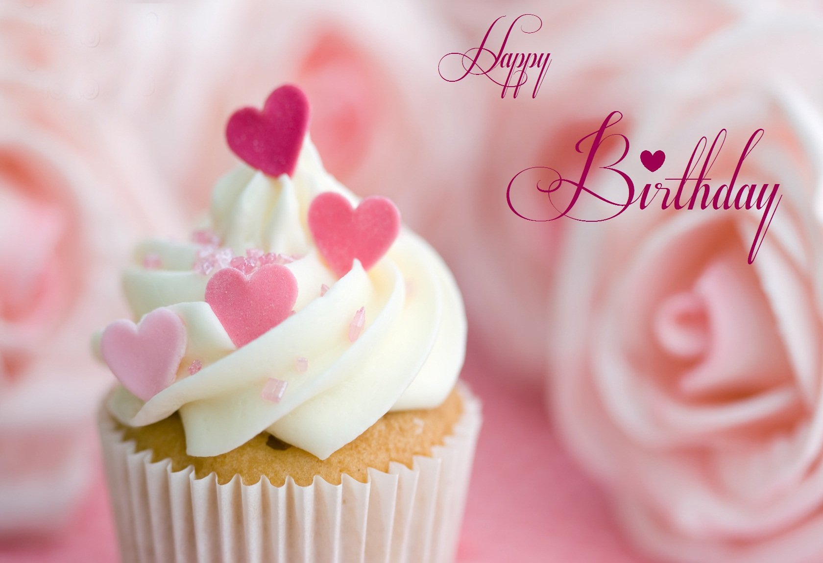 Romantic Cake Happy Birthday Wallpaper HD Wallpaper with 1680x1150 1680x1150