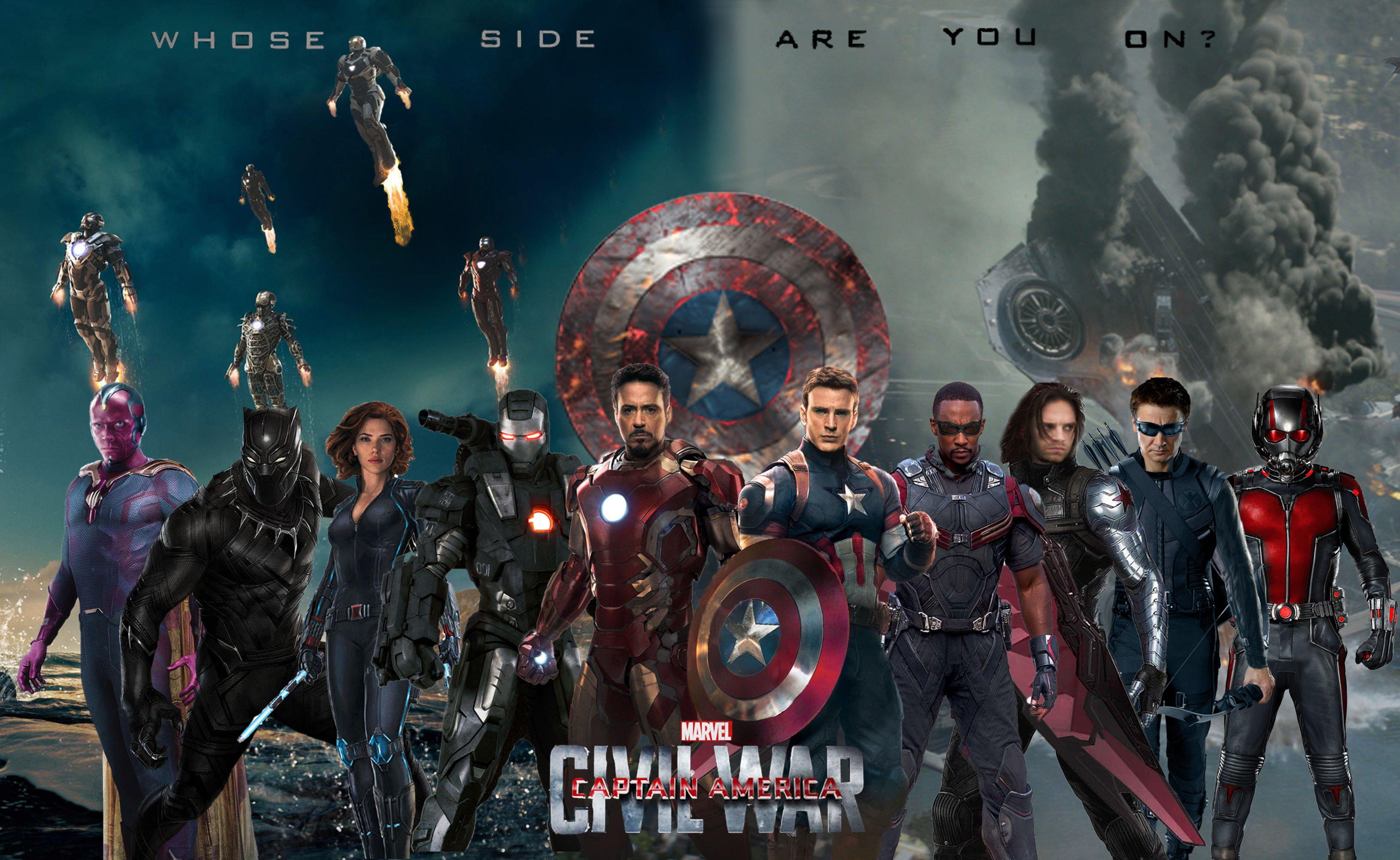 CAPTAIN AMERICA 3 Civil War marvel superhero action fighting 1cacw 3714x2280