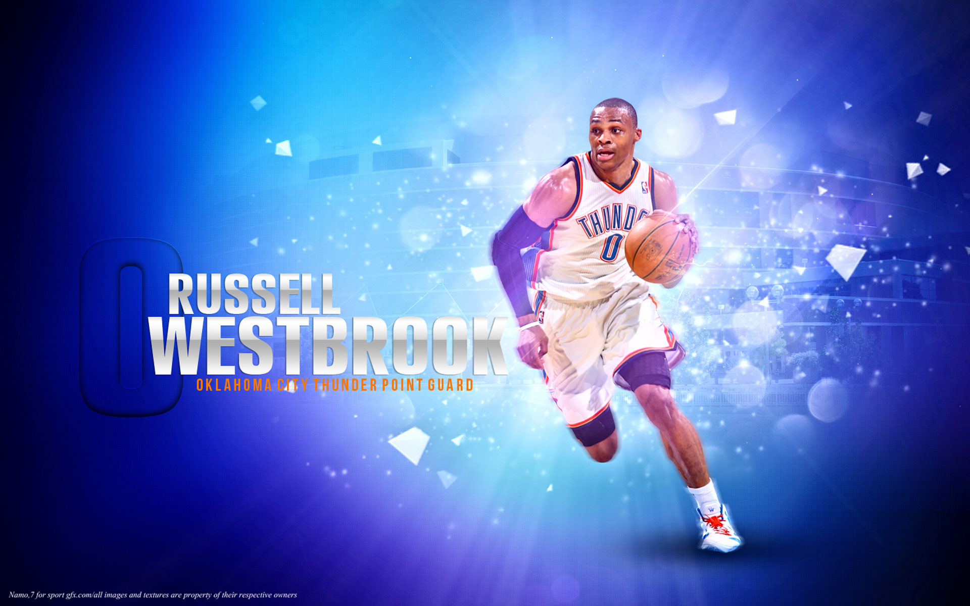 Russell westbrook wallpaper iphone wallpapersafari - Russell Westbrook Wallpaper Hd Wallpapersafari