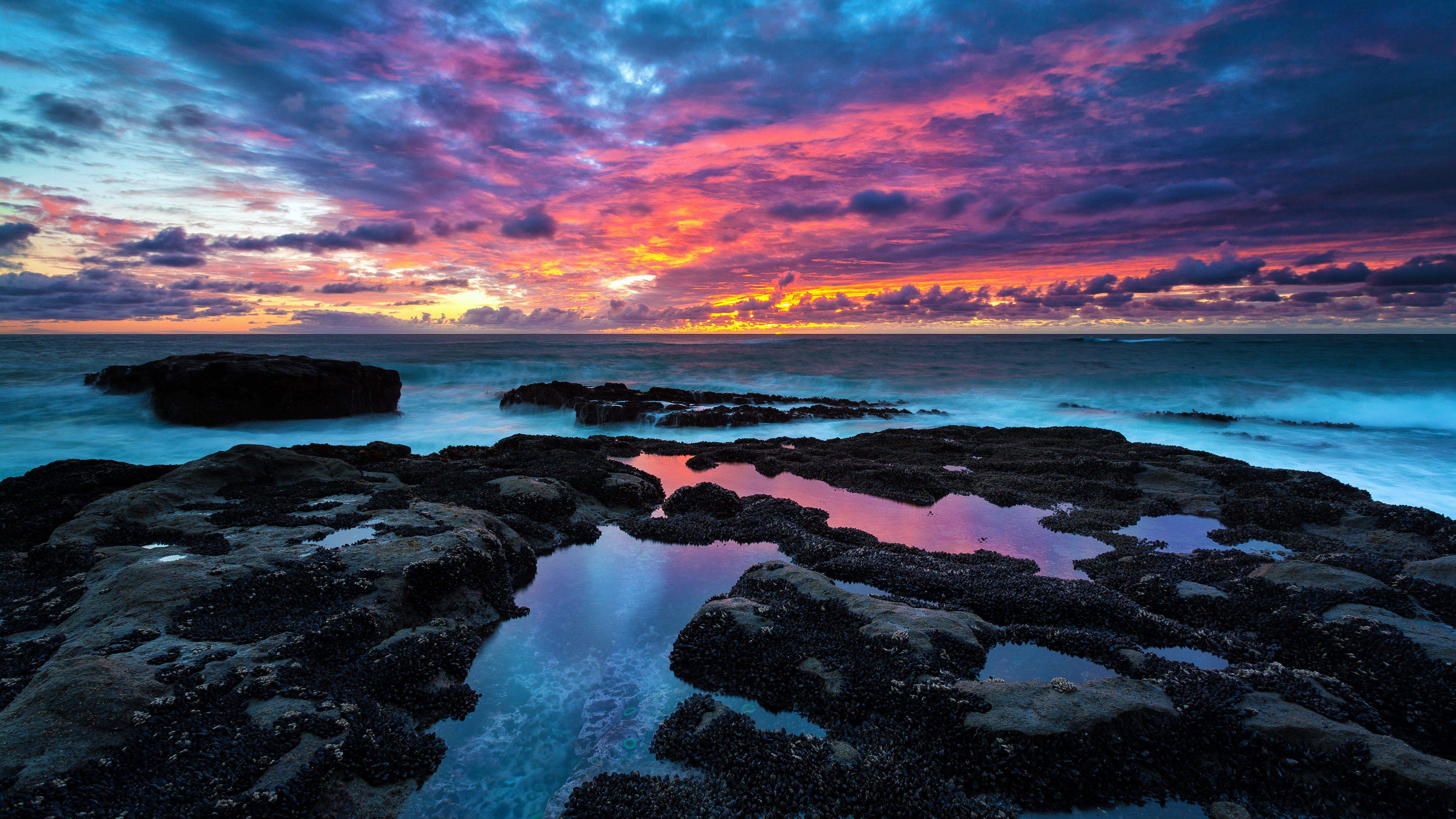 Sunset   New iMac 2014 Wallpapers 5120x2880
