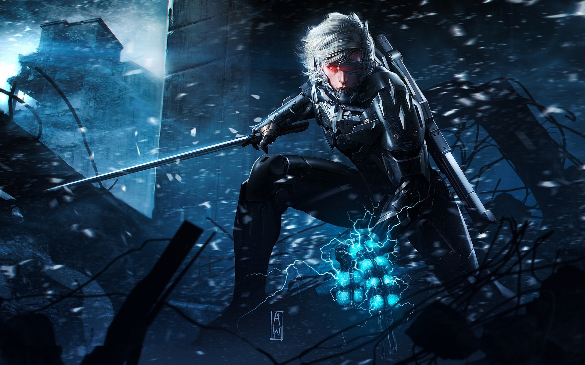 Metal Gear Rising Revengeance Game Wallpapers HD Wallpapers 1920x1200