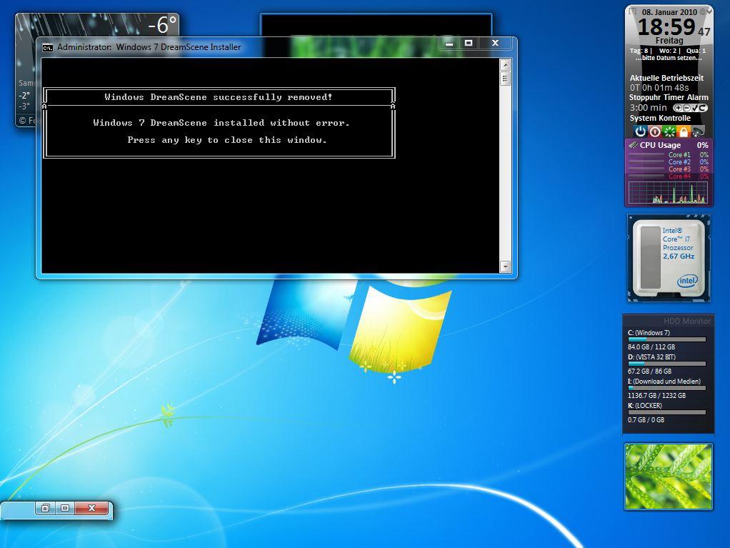dreamscene activator for windows 7