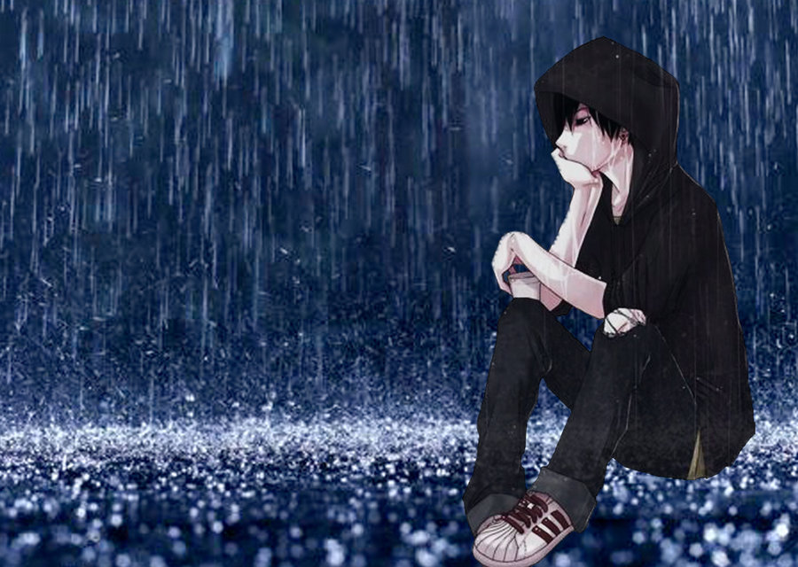Lonely Sad Anime Girls And Boys Wallpapers HD Wallpapers Pictures 900x640